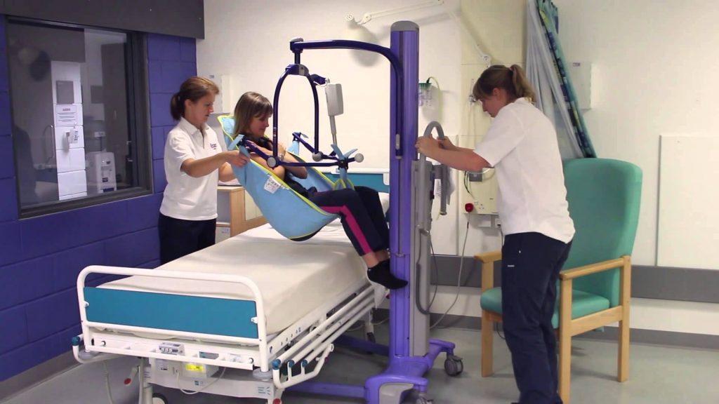 Sollevatore da letto per disabili