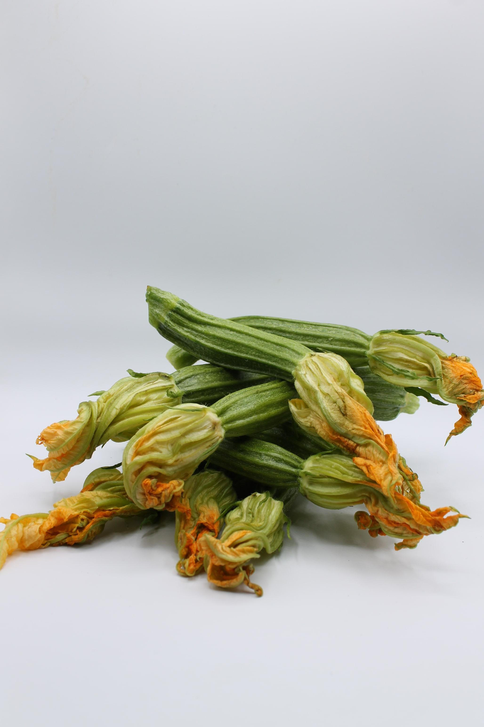 Zucchine Romanesche produzione Italia.