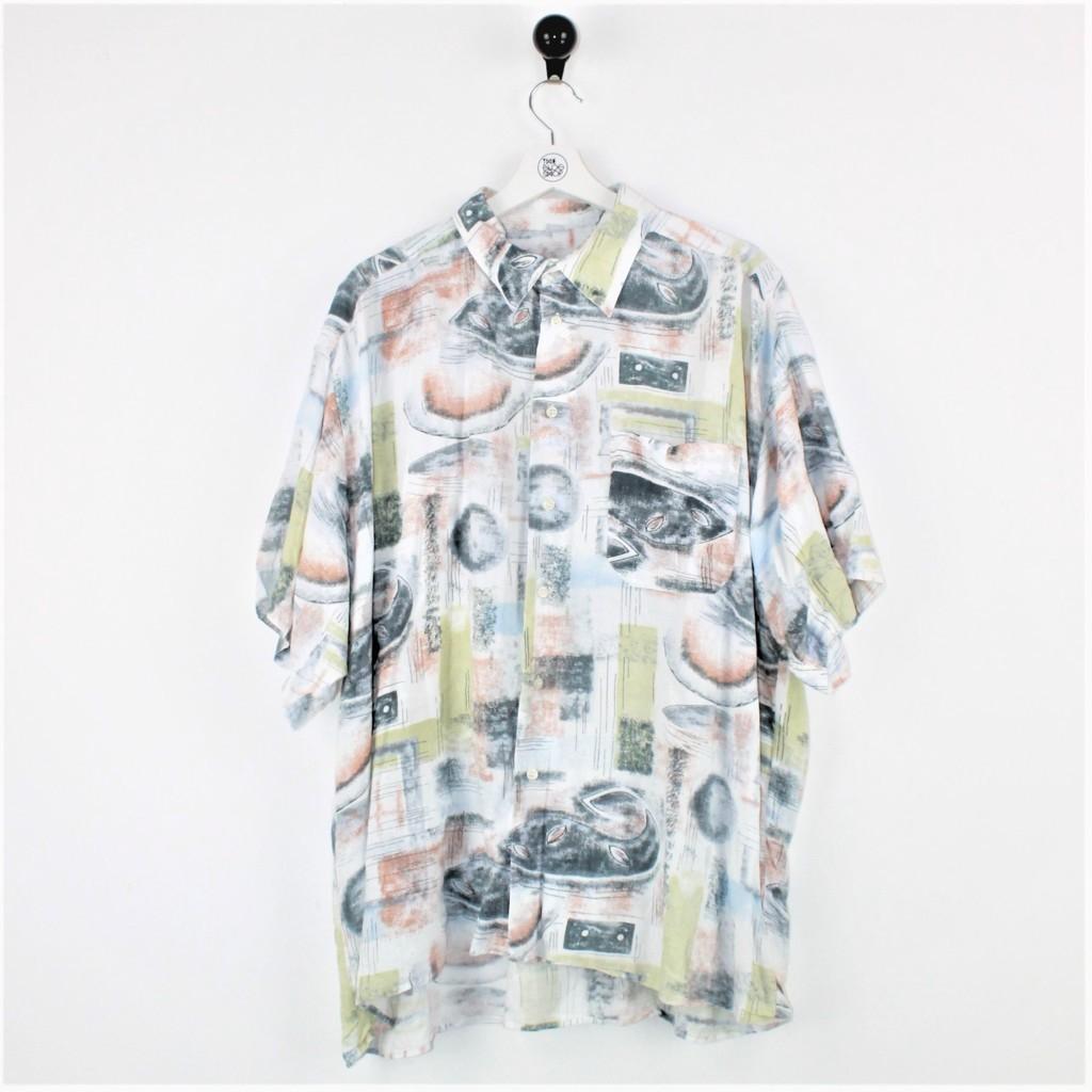 Camicia fantasia astratta