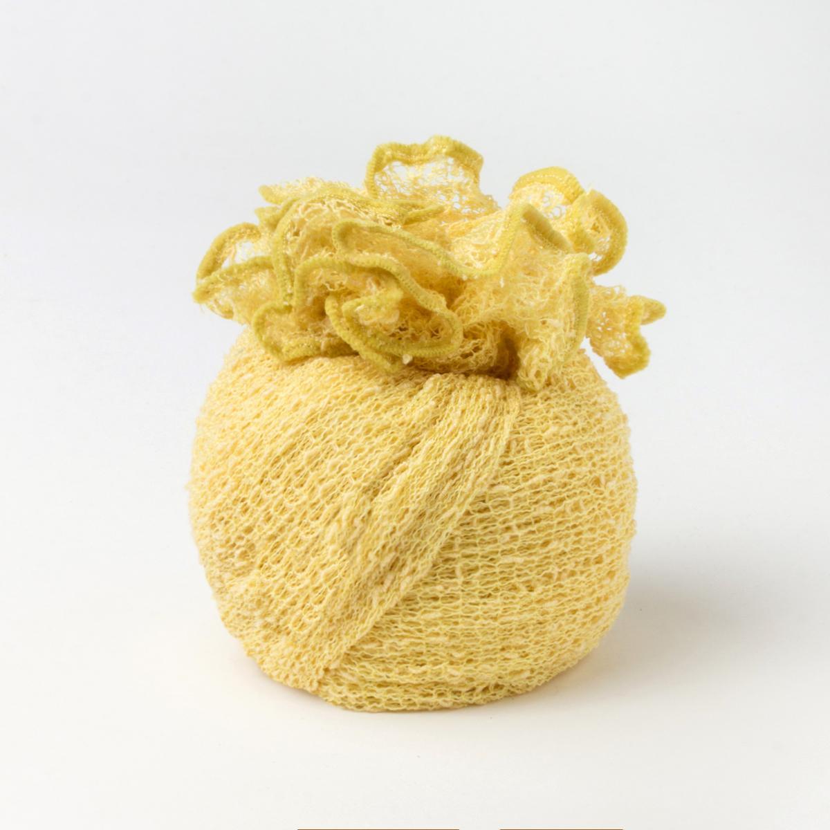 Ponchetto Giallo Limone | Accessori collezione estate donna