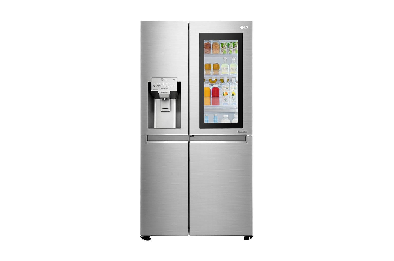 LG GSX960NSVZ frigorifero side-by-side Libera installazione 668 L F Acciaio inossidabile