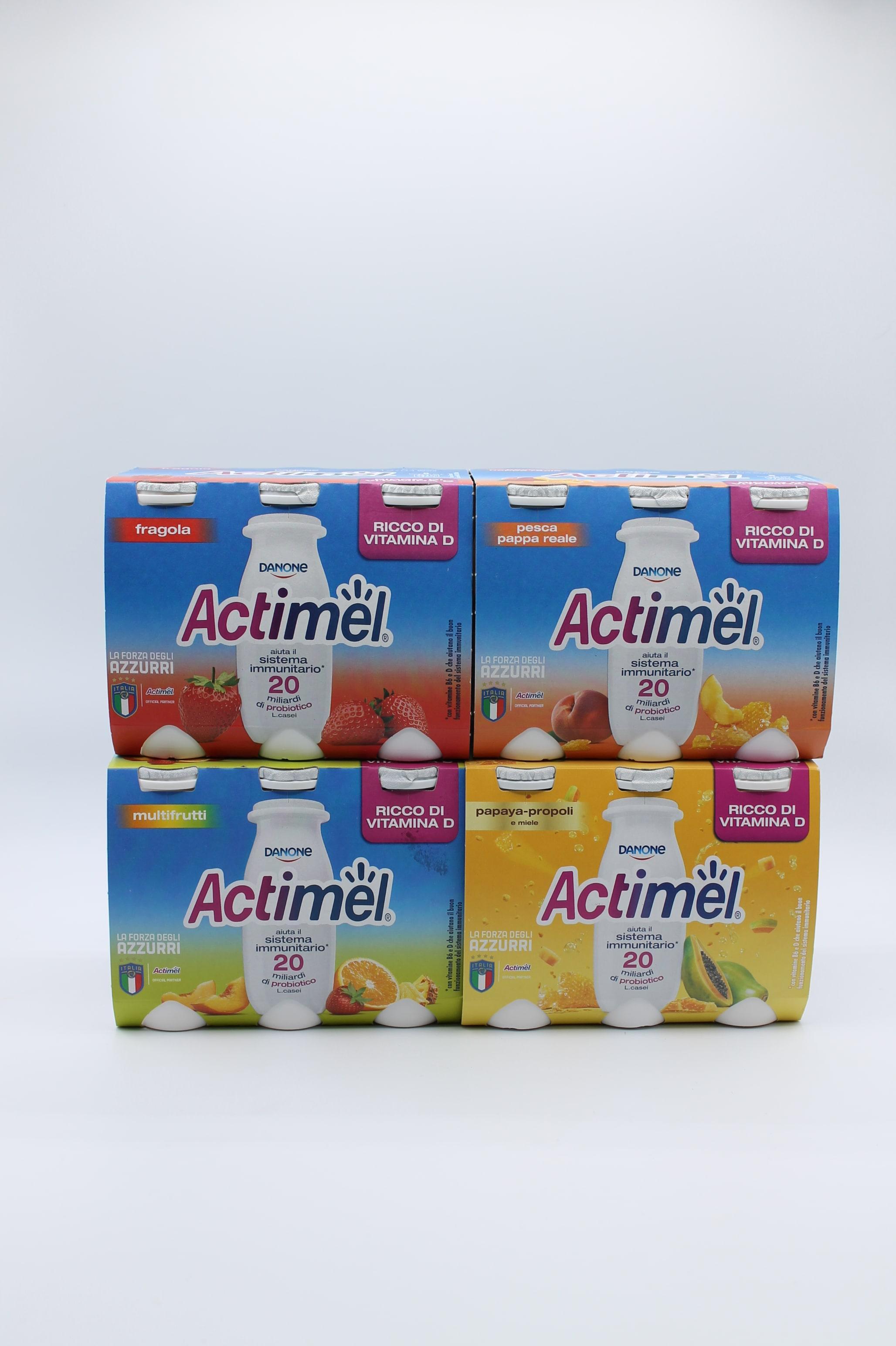 Actimel 6X100gr vari gusti.