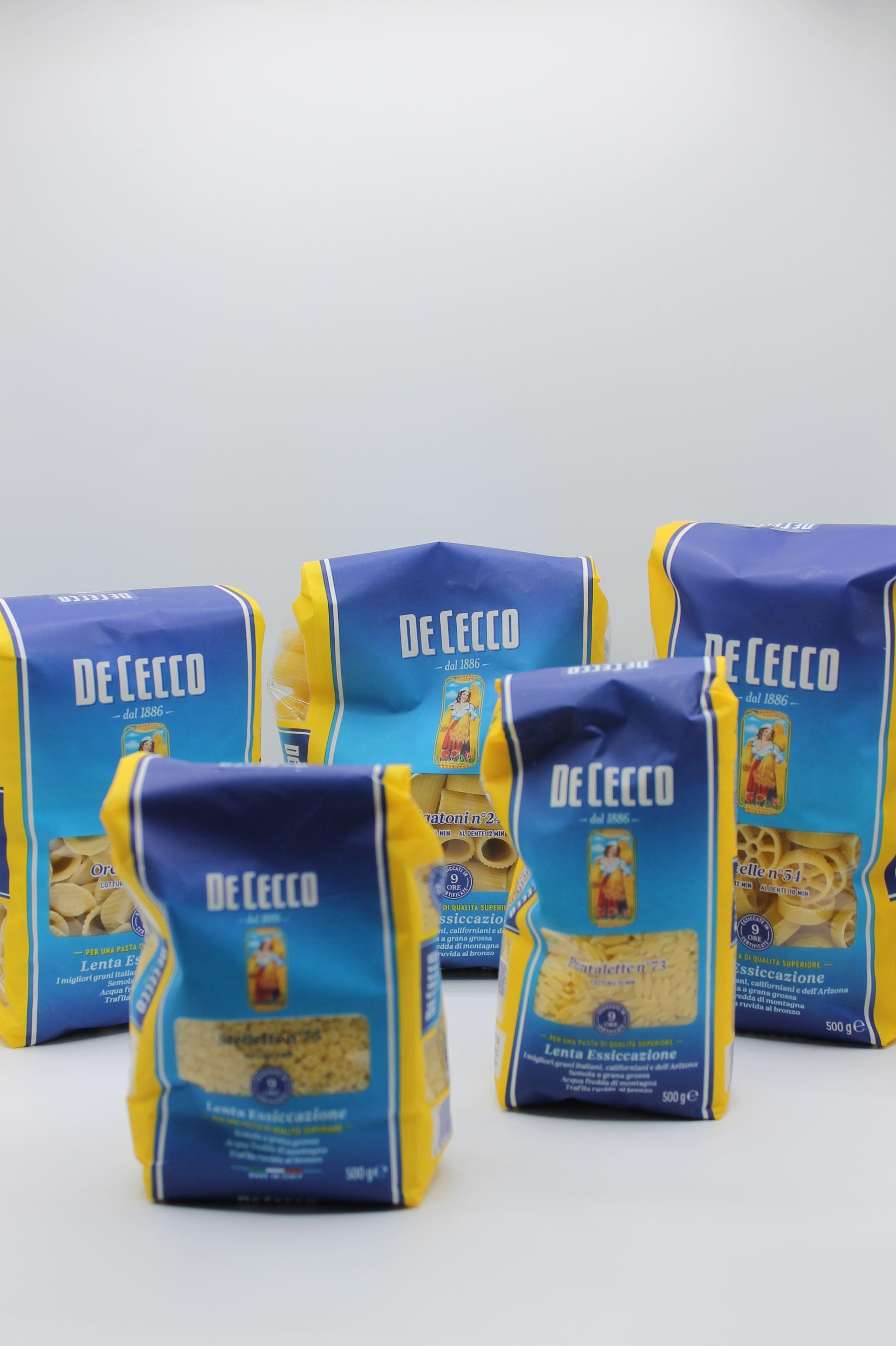 De Cecco pasta corta/pastina 500gr assortita.