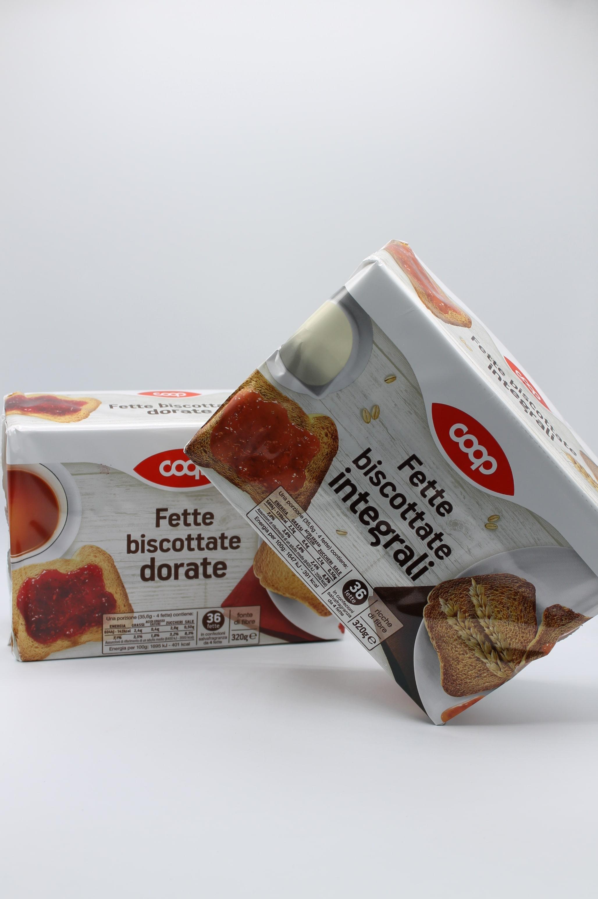 Coop fette biscottate assortite 320 gr.