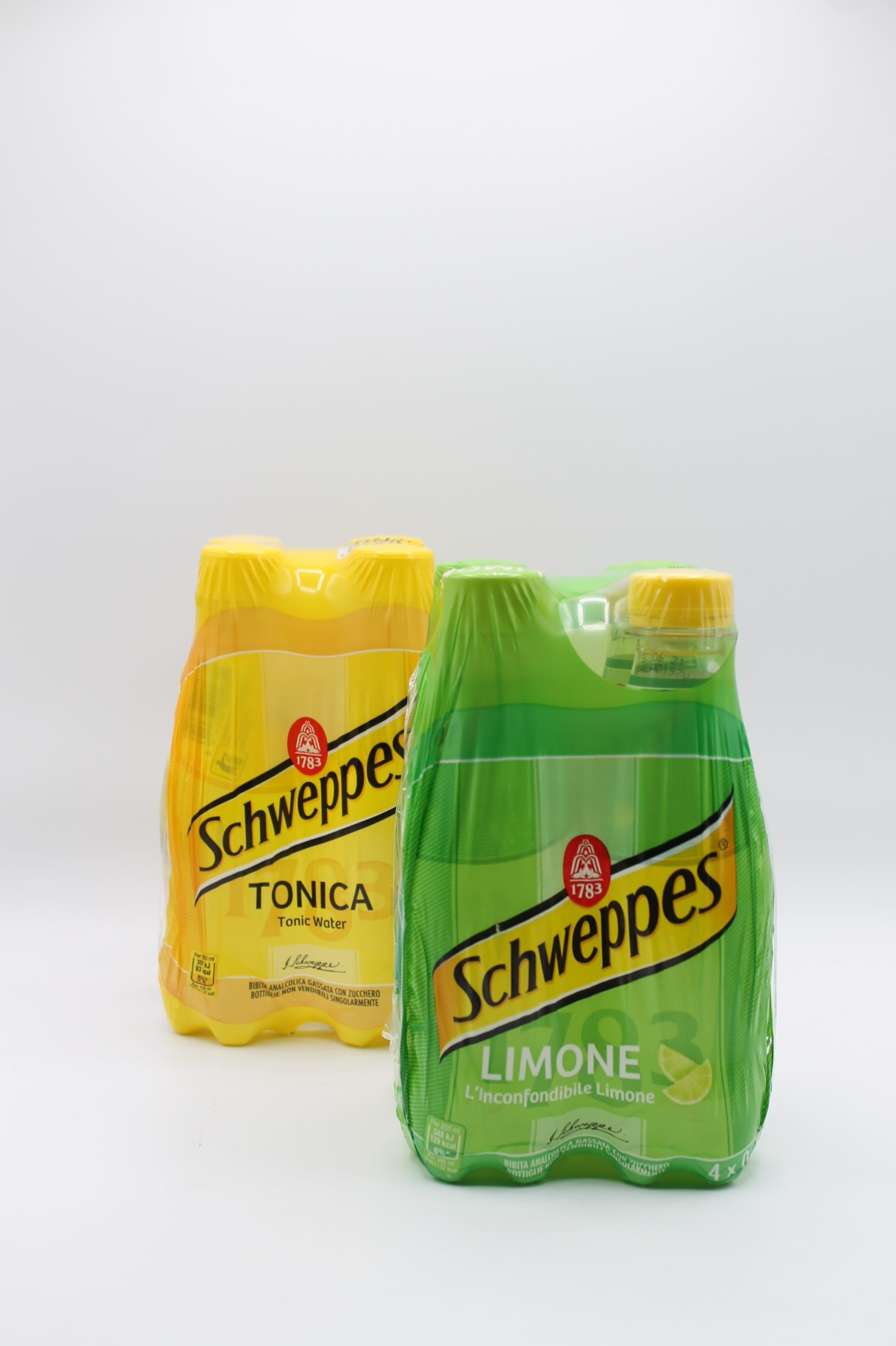 Schweppes 4x250ml vari gusti.