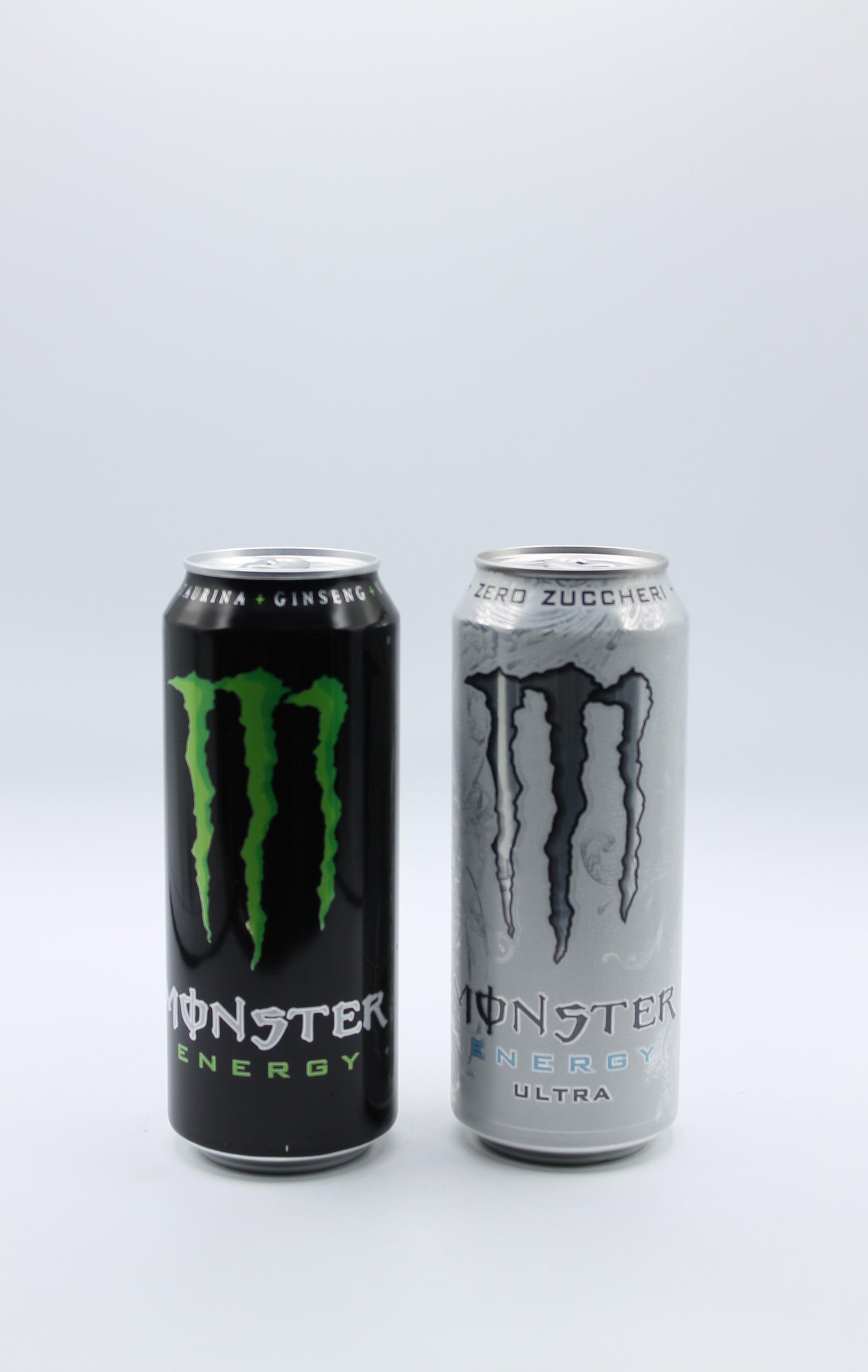 Monster energy drink lattina 500ml vari gusti.