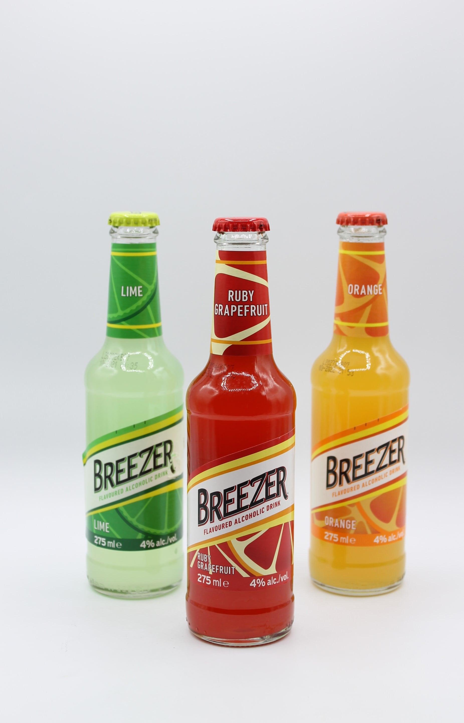 Bacardi Breezer 275ml vari gusti.
