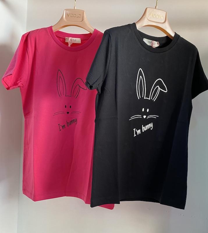 Tshirt Vicolo Bambina I'm Bunny 2/14 Anni