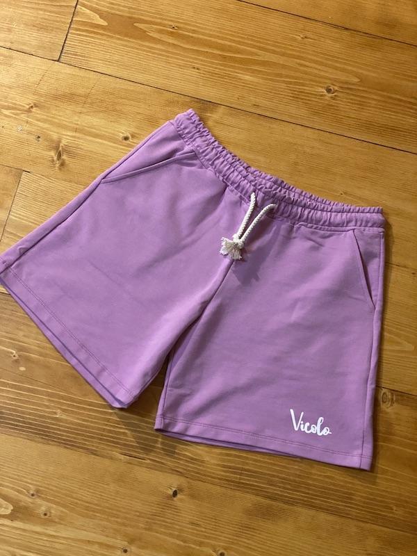 Shorts Vicolo Bambina in felpa con coulisse