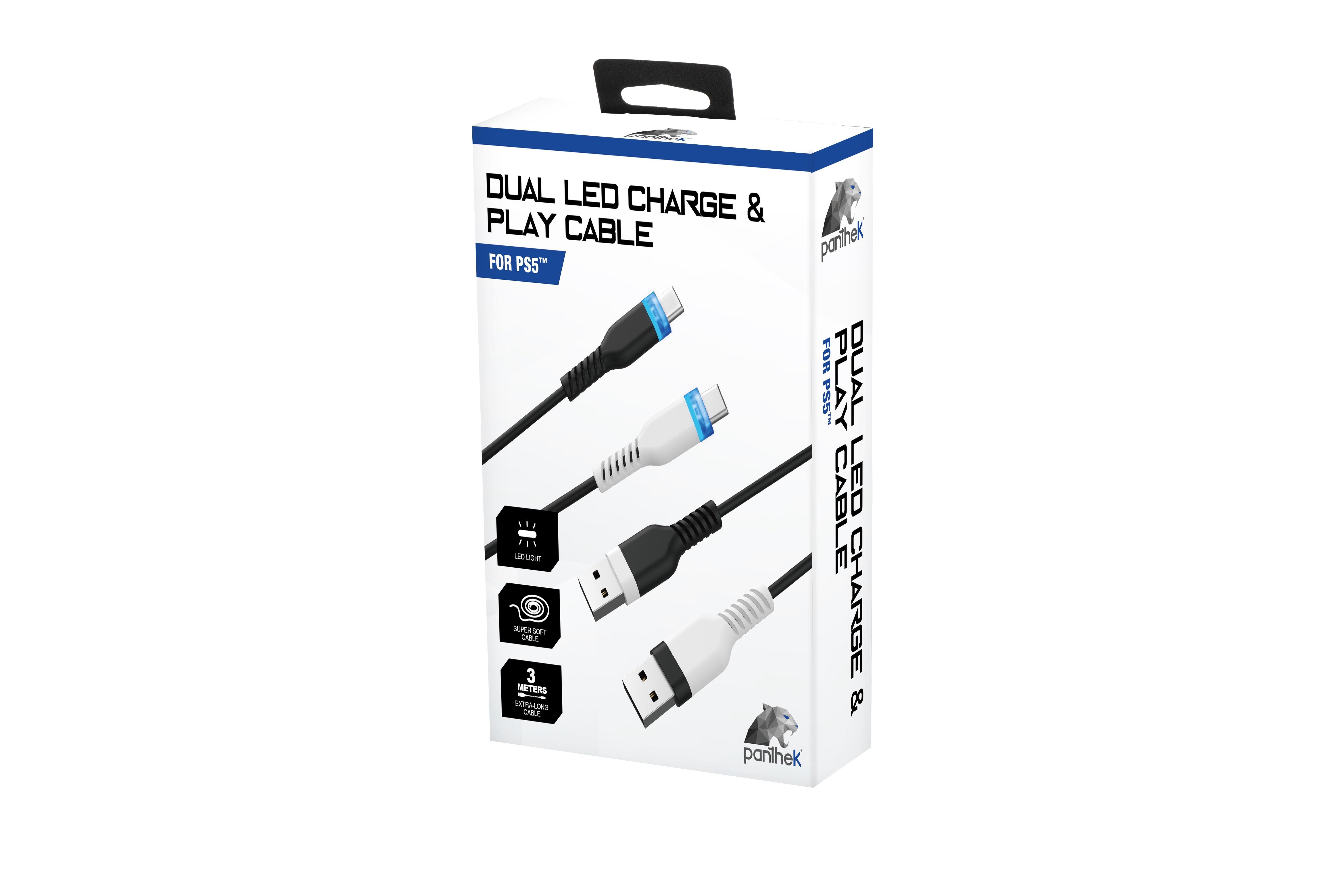 Panthek PT/DLCPC/PS5 accessorio di controller da gaming Cavo per controller per videogiochi