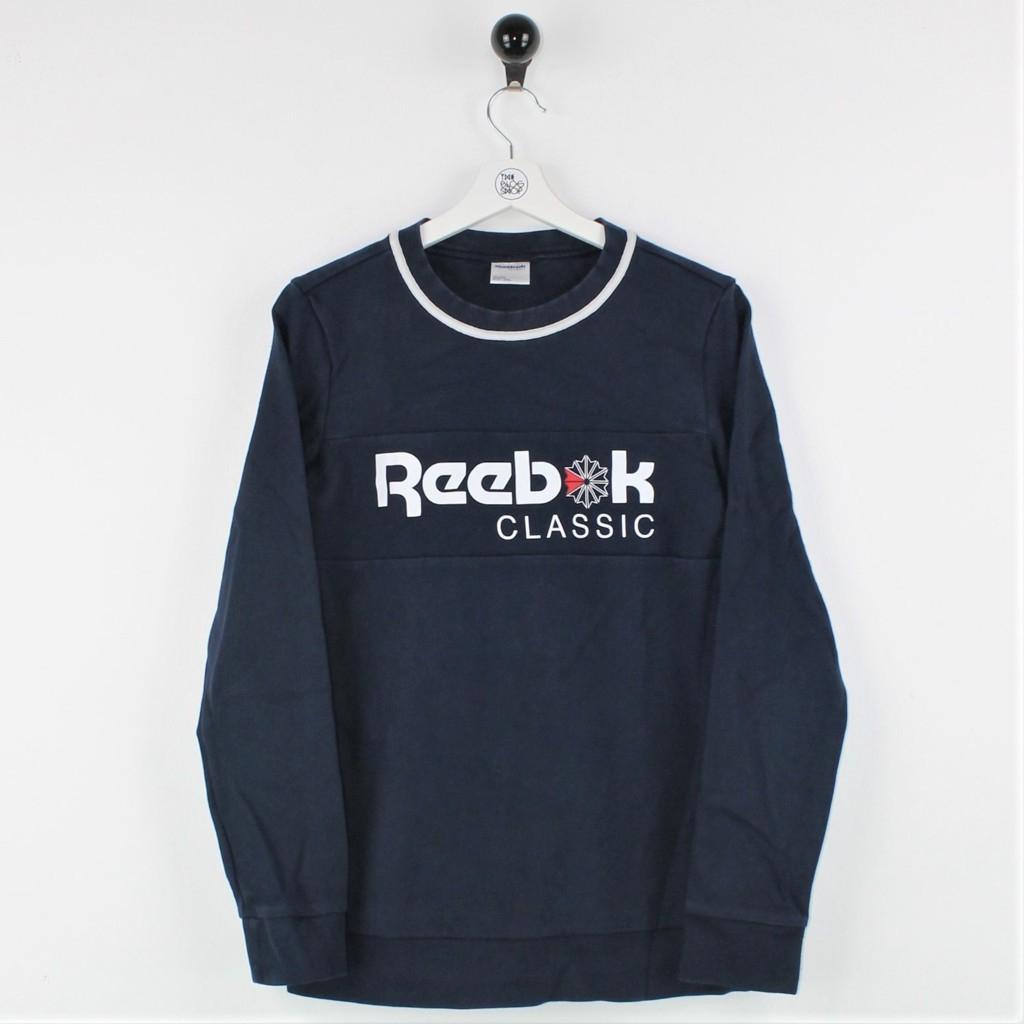 Reebok - Felpa girocollo