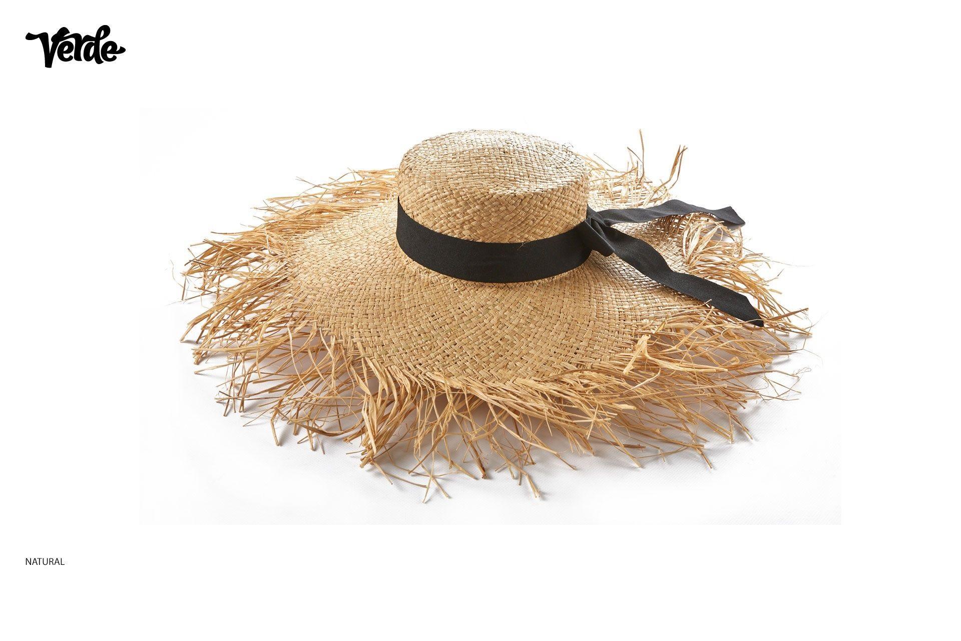 Chapeau de plage à franges | Vente en ligne de chapeaux pour femmes
