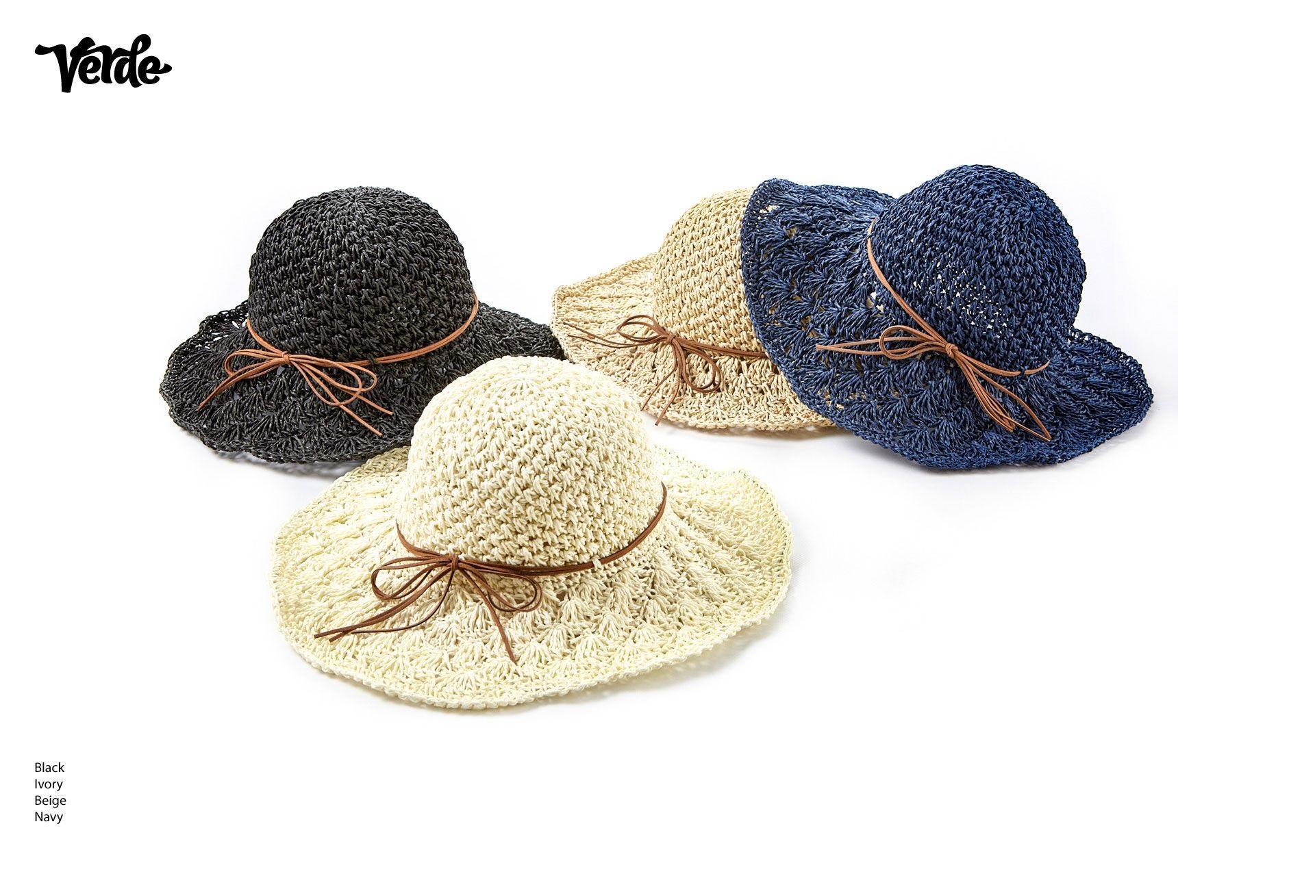 Soft straw hats | Women's summer hats online