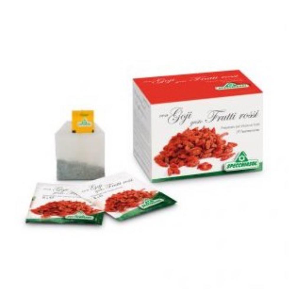 Infuso con Goji gusto frutti rossi