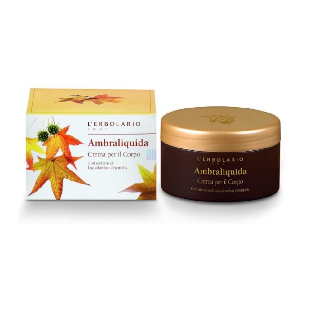 L'erbolario Ambraliquida Body Cream