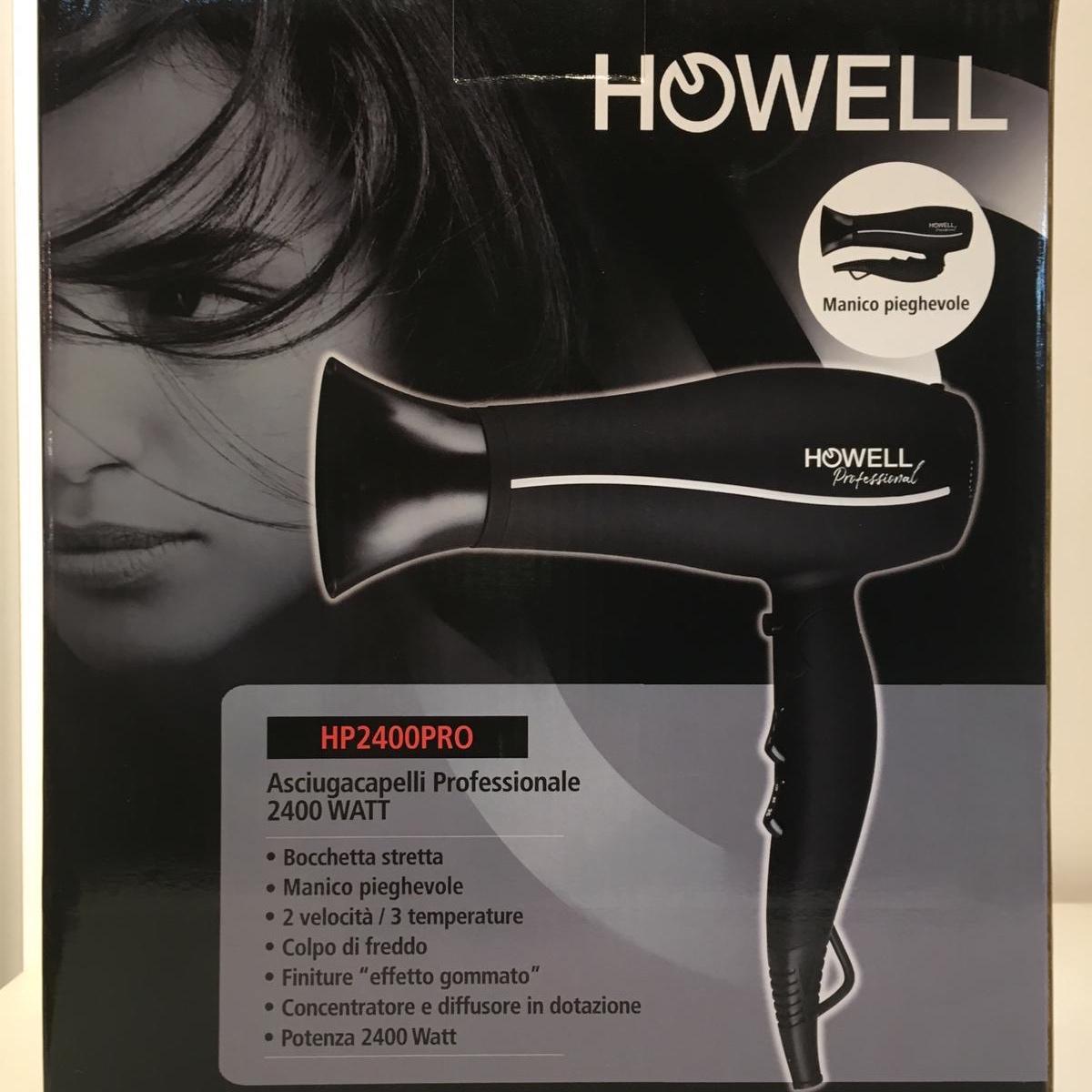 Asciugacapelli professionale Howell