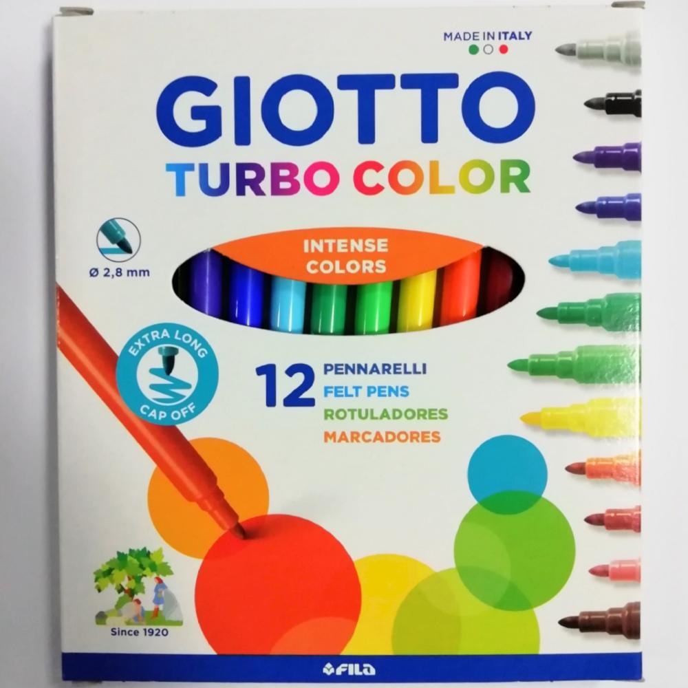 Pennarelli Giotto Turbocolor 12pz