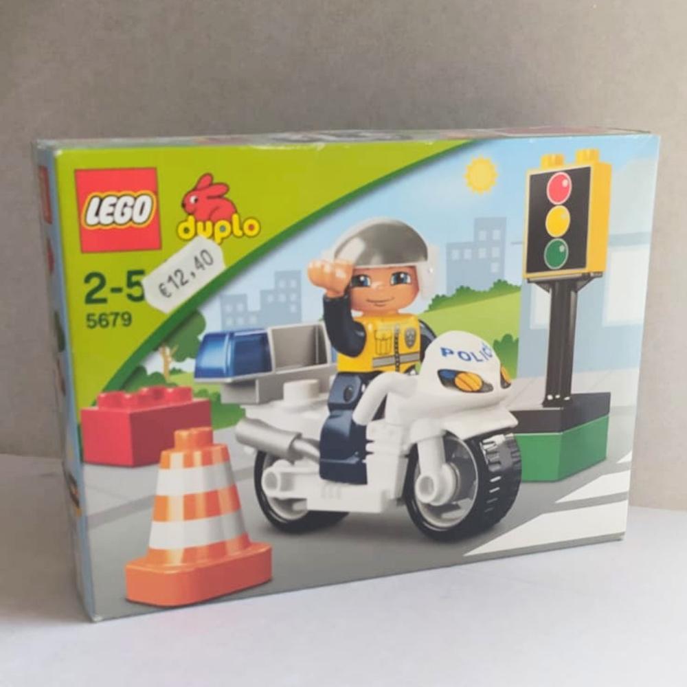LEGO Duplo 5679 - Motocicletta della Polizia