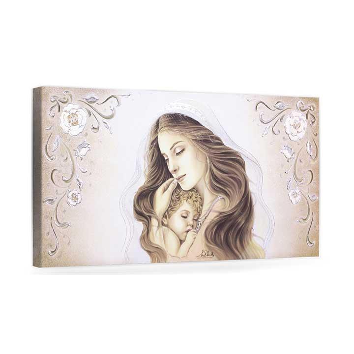 Capezzale Madonna col bambino