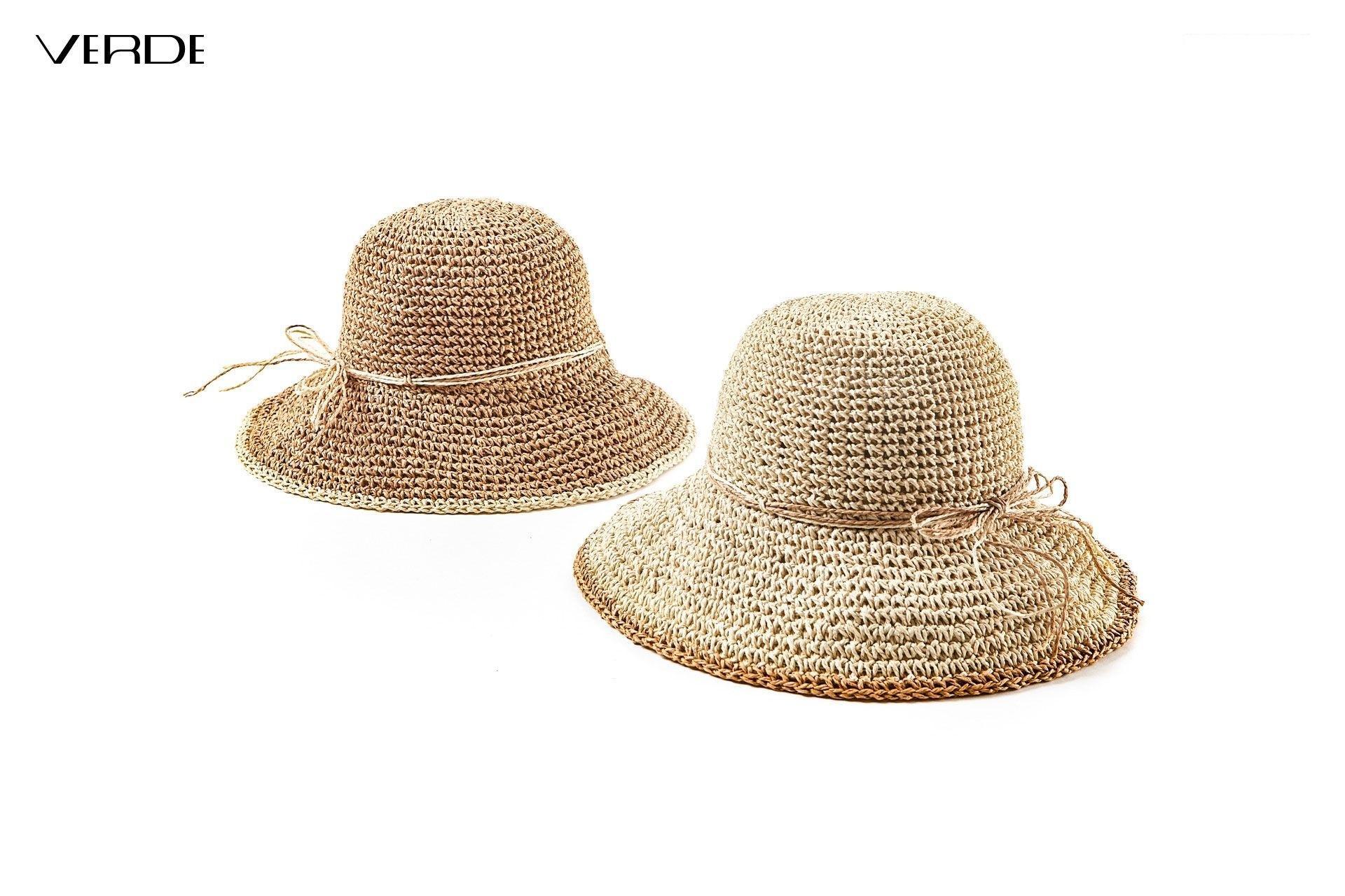 Chapeau de paille pliable  | Chapeaux d'été pour femmes