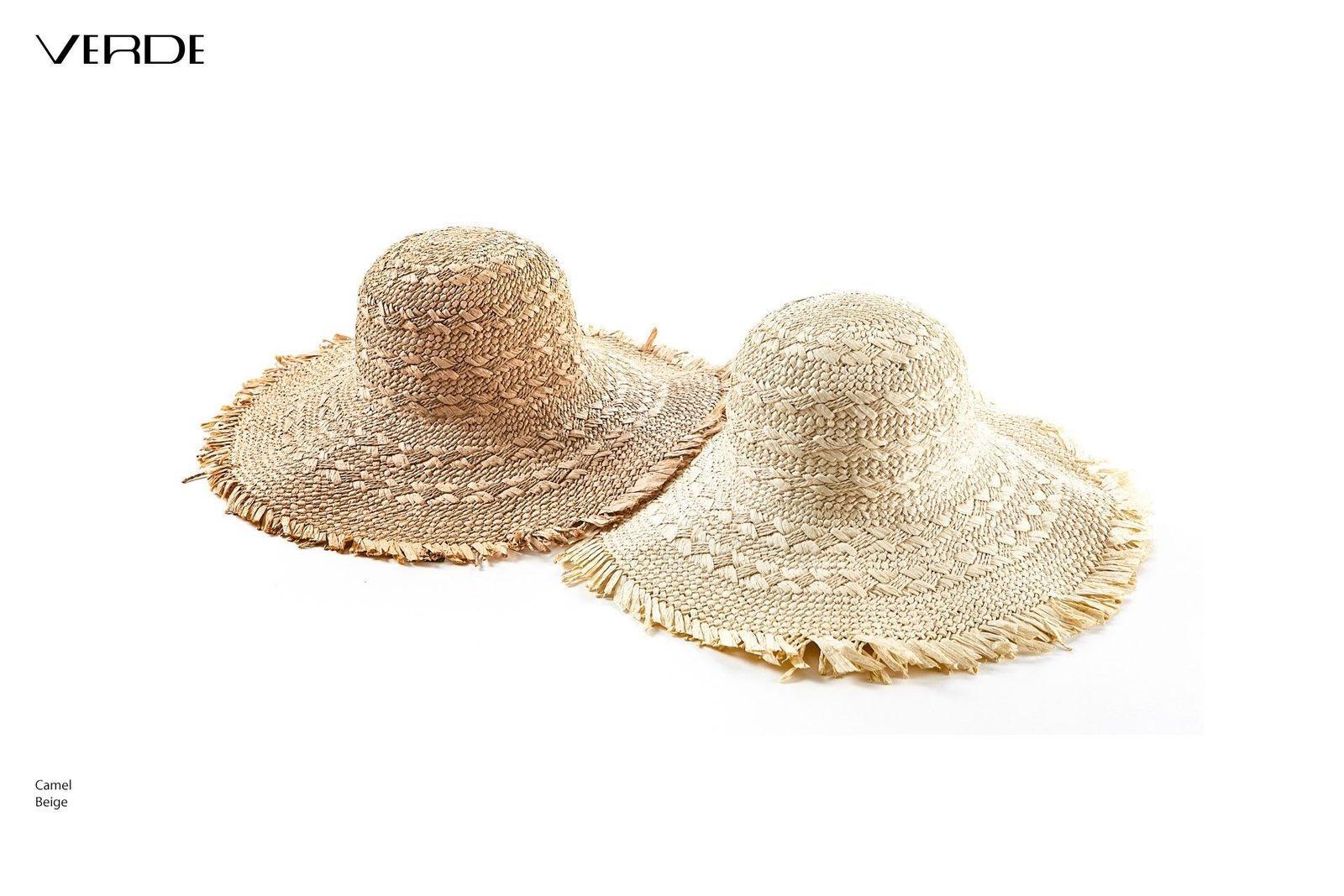 Chapeau de soleil à franges | Chapeaux de paille pour femmes en ligne