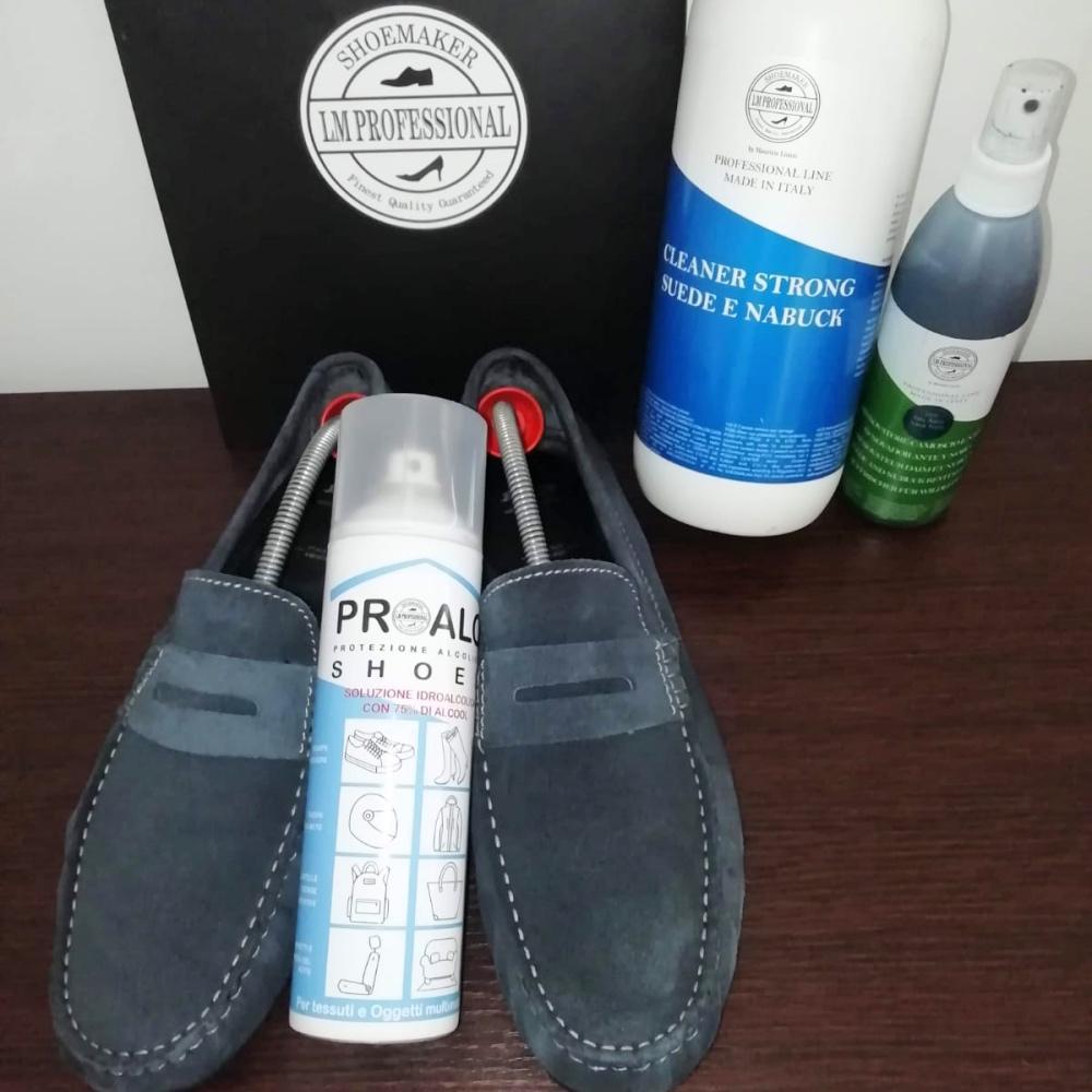 Igienizzazione con Proalc Shoes