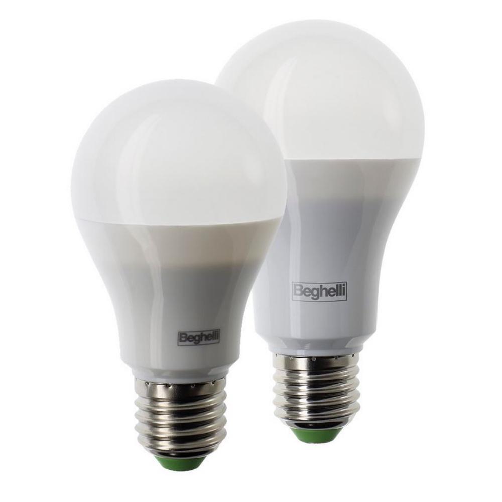 Lampada elplast beghelli  (13/15w luce 3000/4000/6000  E27)