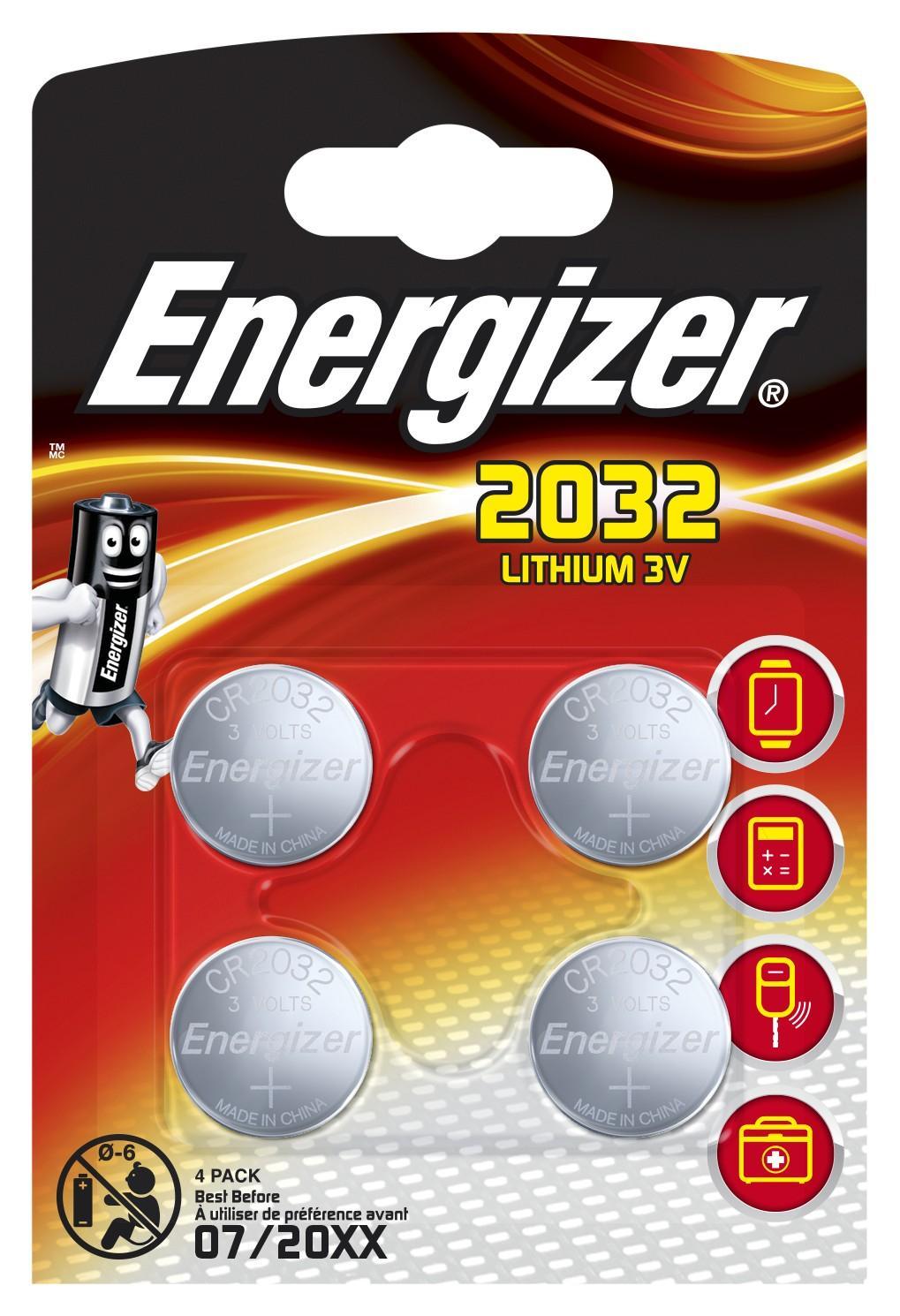 Energizer CR2032 Batteria monouso Litio