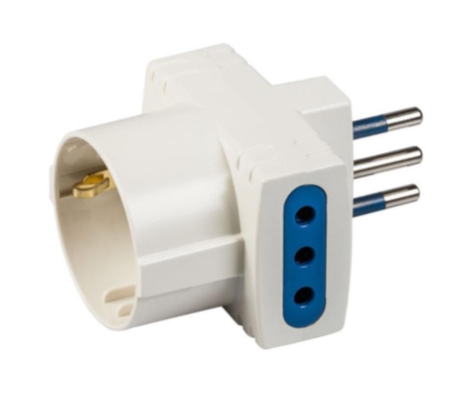 Poly Pool PP0467X Tipo L (IT) Tipo L (IT) + Tipo F adattatore per presa di corrente