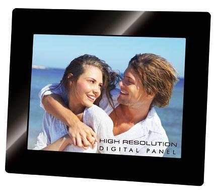 Trevi DGF 2218 S cornice per foto digitali Nero 20,3 cm (8