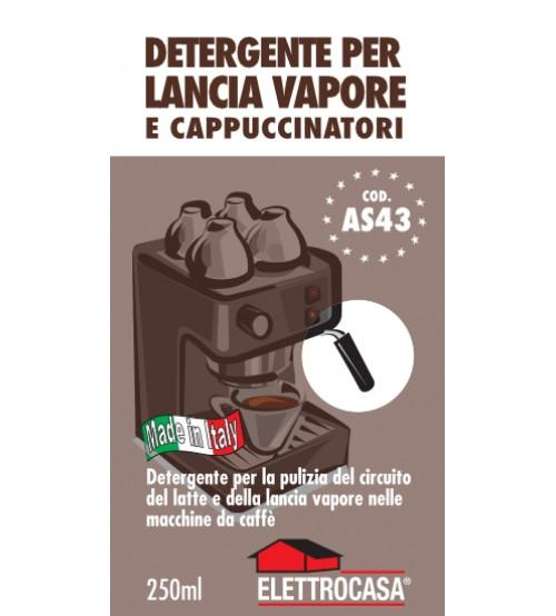 Elettrocasa AS 43 detergente per elettrodomestico Macchina da caffè 250 ml