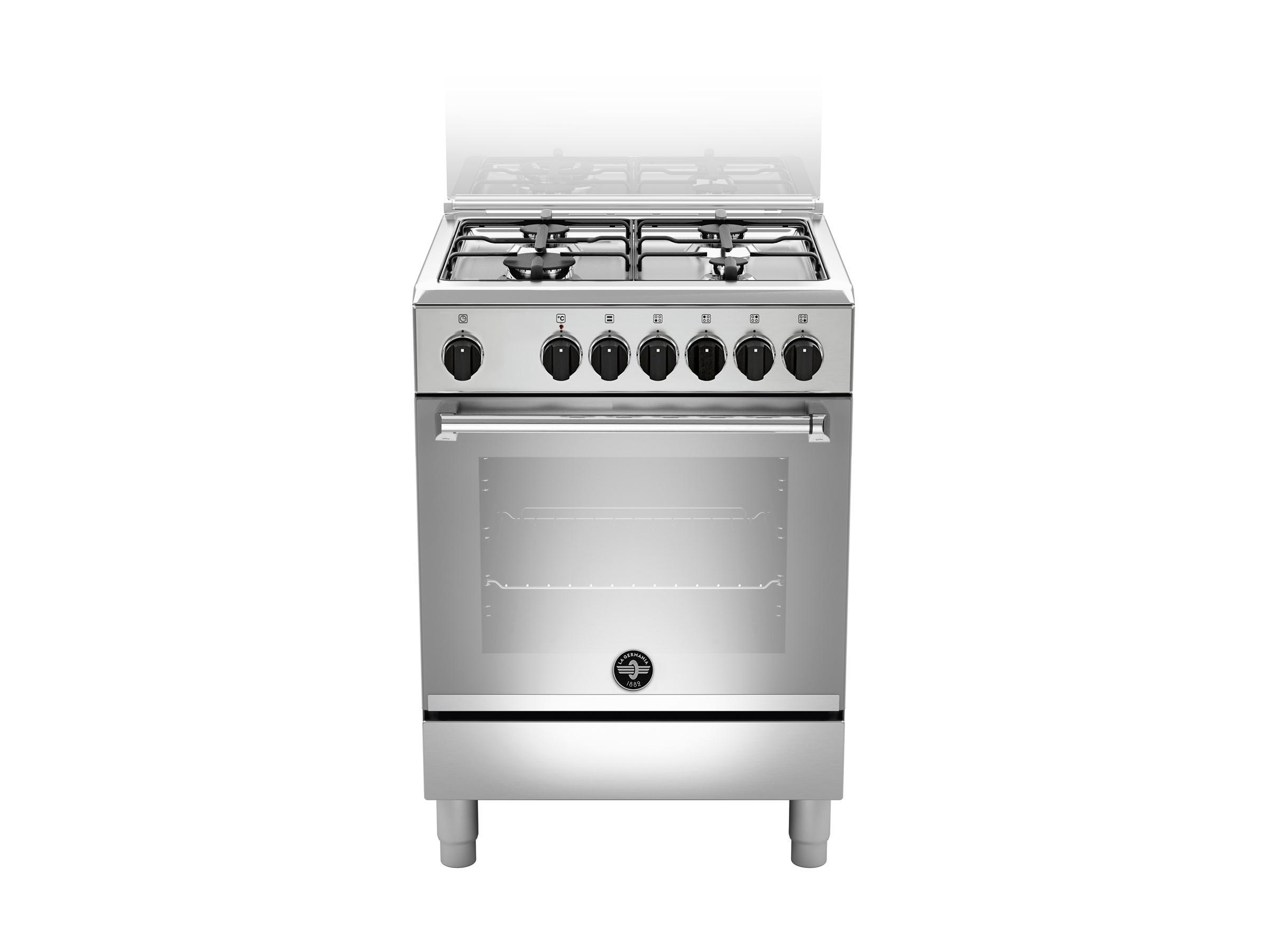 Bertazzoni La Germania Americana AMN664EXV cucina Piano cottura Gas Acciaio inossidabile A