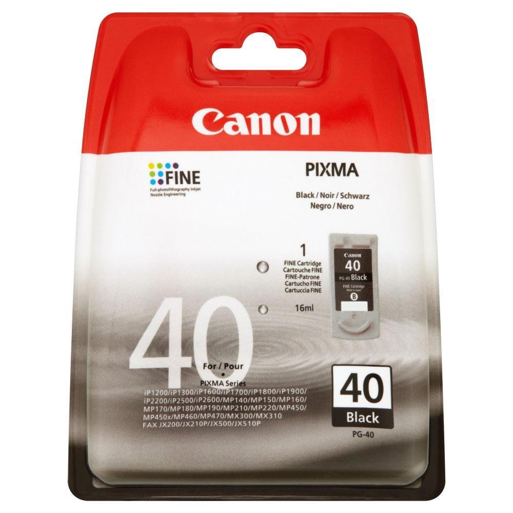 Canon PG-40 1 pezzo(i) Originale Resa standard Nero