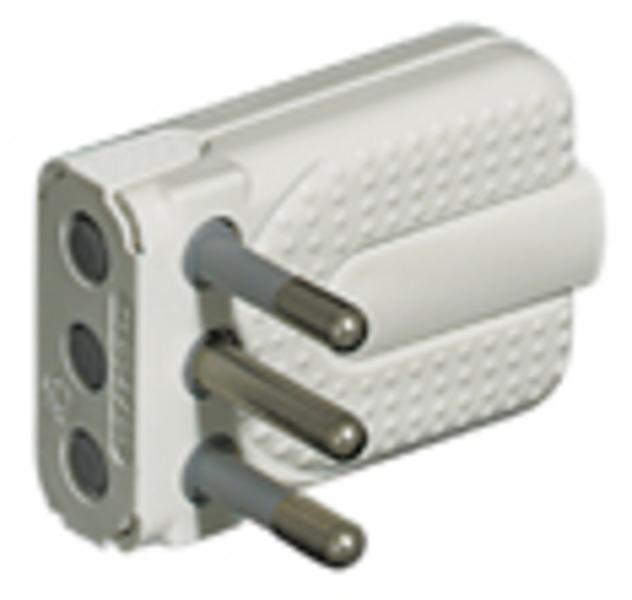bticino S2465TA adattatore per presa di corrente Bianco