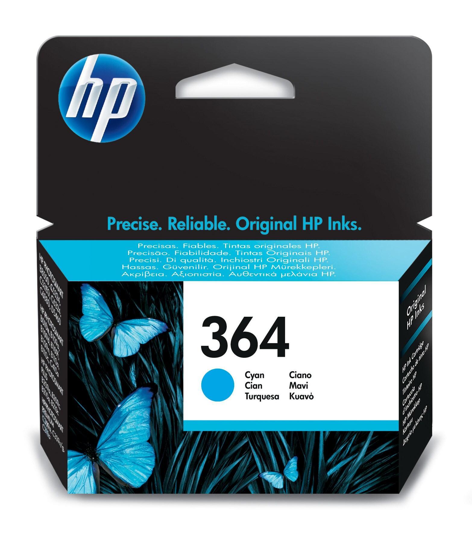 HP 364 1 pezzo(i) Originale Resa standard Ciano