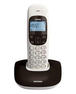 Brondi Nice Telefono DECT Identificatore di chiamata Nero