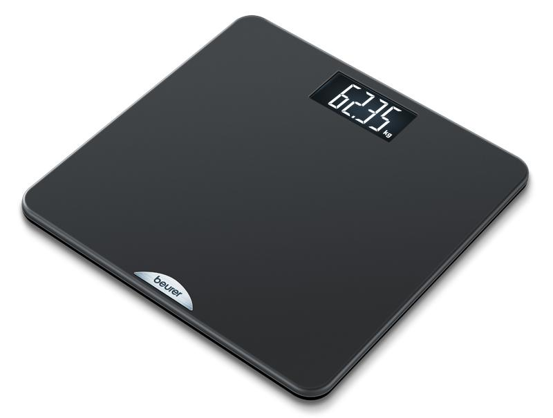 Beurer PS 240 Quadrato Nero Bilancia pesapersone elettronica