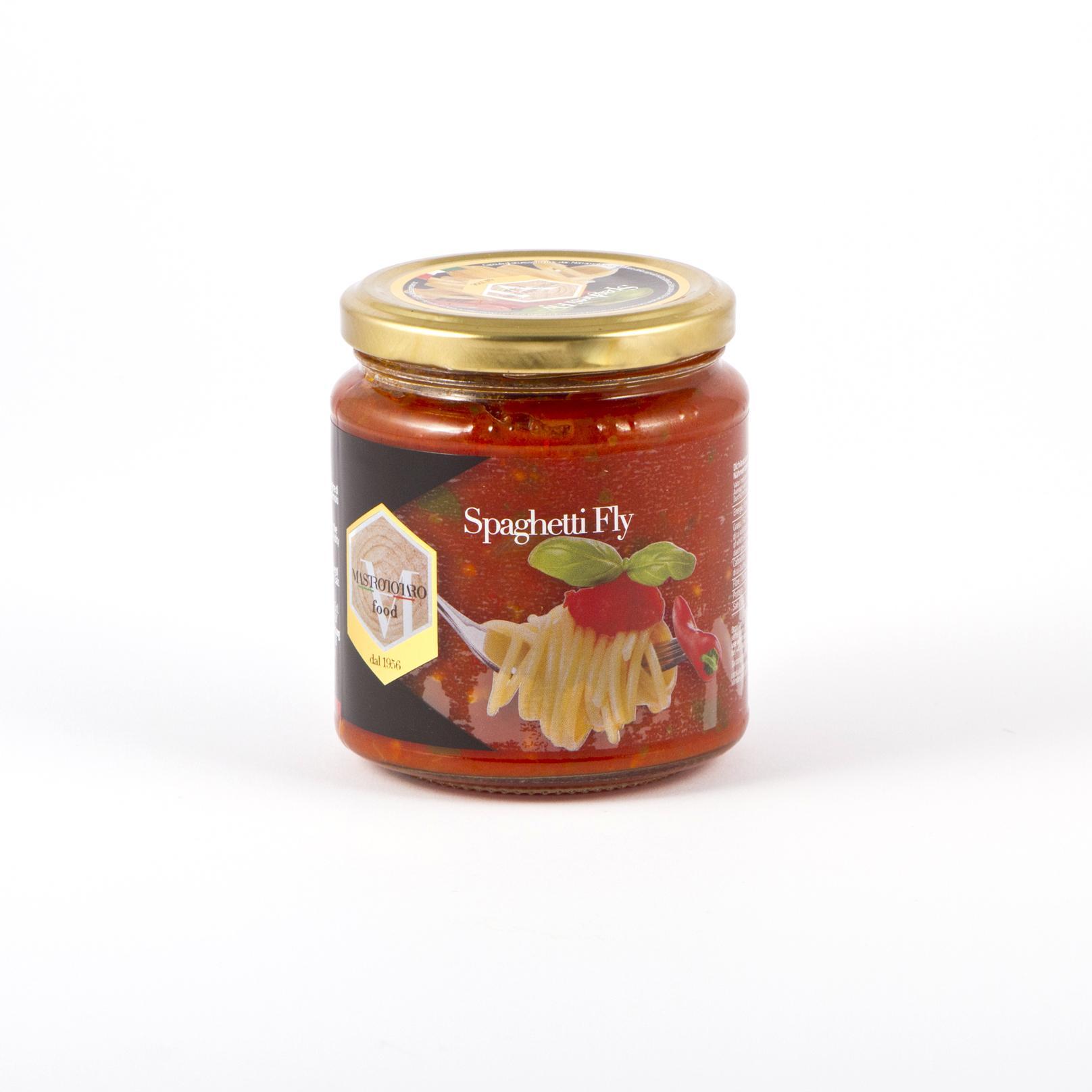 Ready spicy tomato sauce Spaghetti Fly