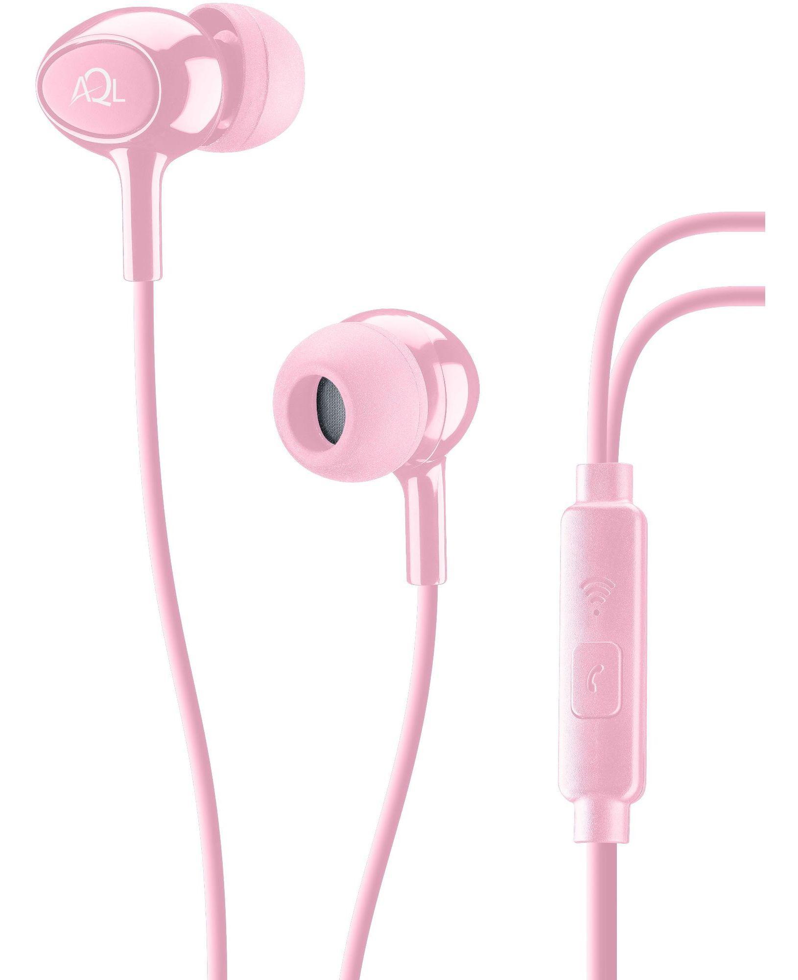 Cellularline Acoustic - Universale Auricolari pump bass in-ear Rosa
