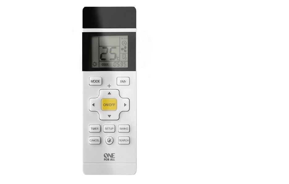One For All URC 1035 telecomando IR Wireless Aria condizionata Pulsanti