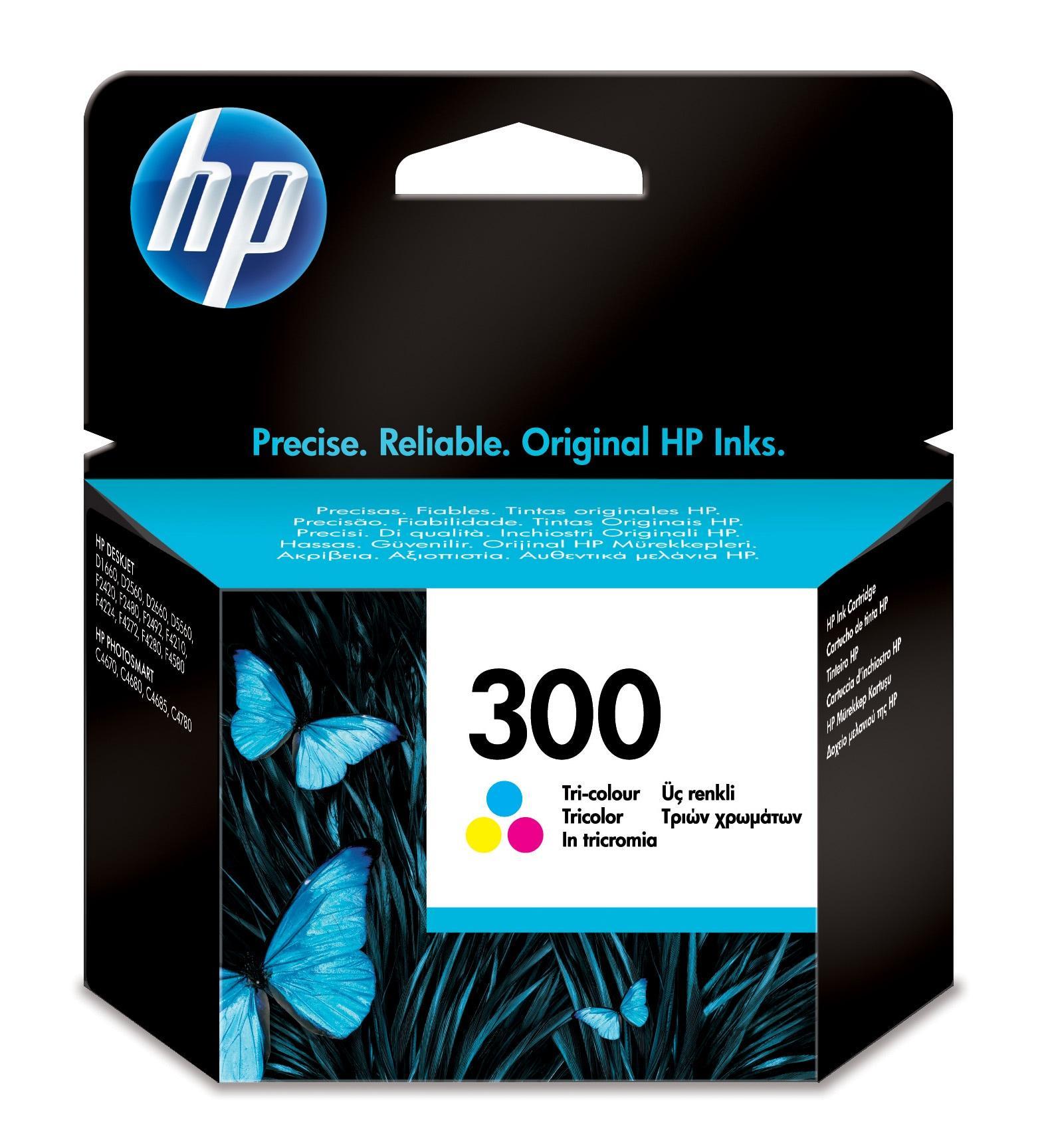 HP 300 Originale Ciano, Magenta, Giallo 1 pezzo(i)