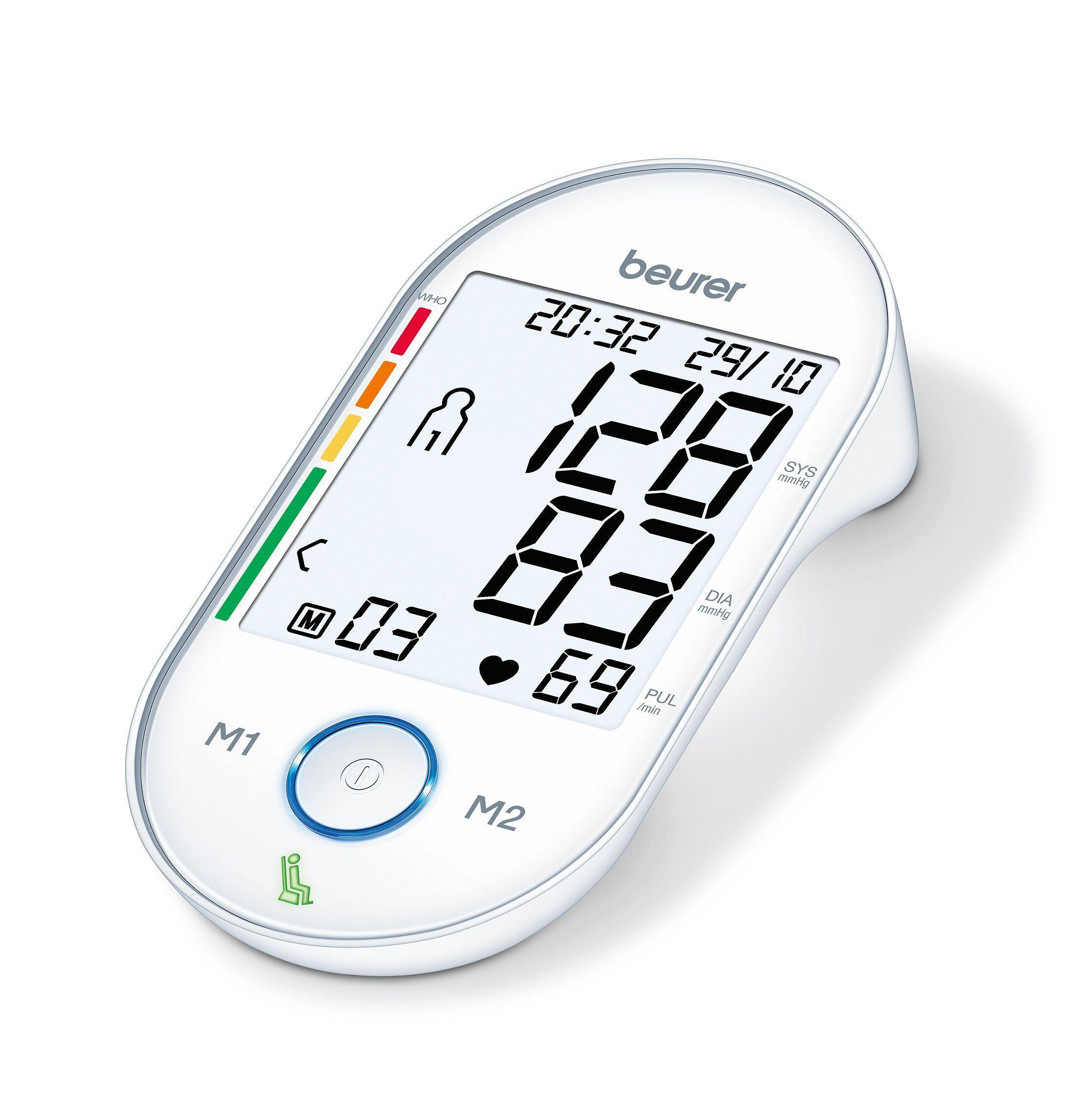 Beurer BM55 Arti superiori Misuratore di pressione sanguigna automatico 1 utente(i)