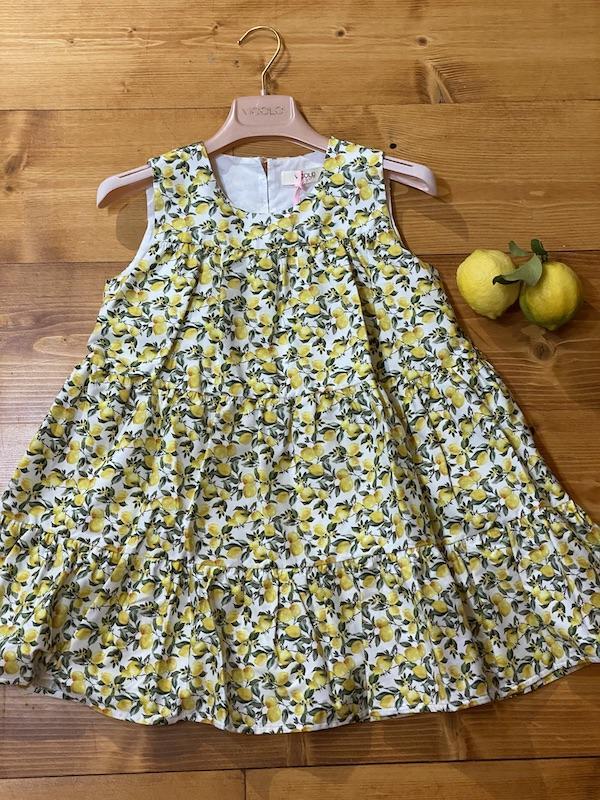 Vestito Limoni Vicolo Bambina