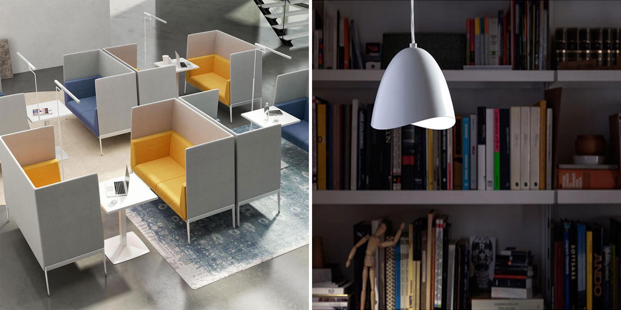 Illuminazione degli ambienti curata e funzionale