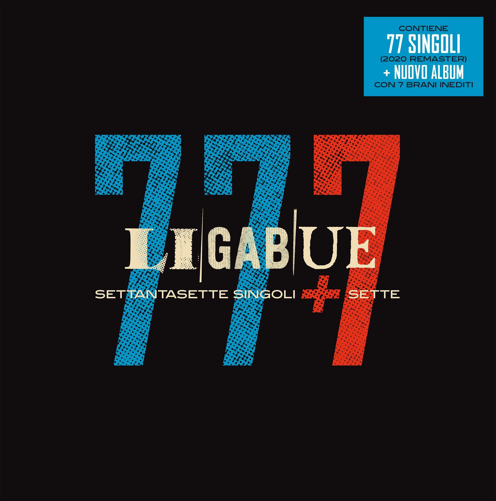 CD cofanetto – 77 7 settantasette singoli   sette – Ligabue