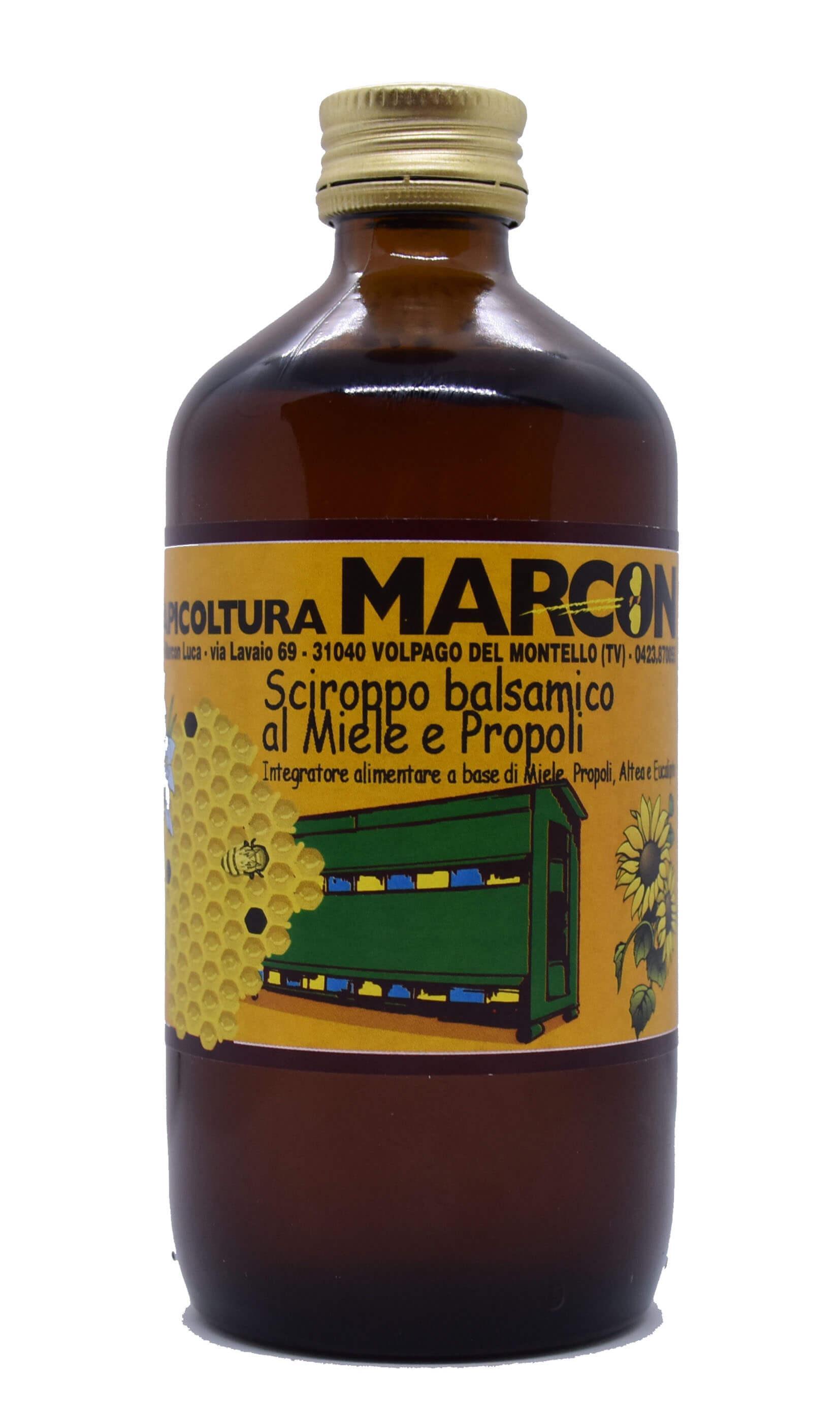 Sciroppo balsamico al miele propoli eucalipto 250 ml