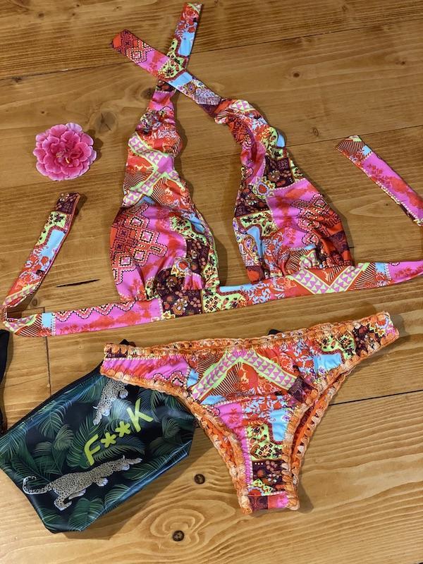 Bikini triangolo Marylin e slip fianco fisso Venture Effek