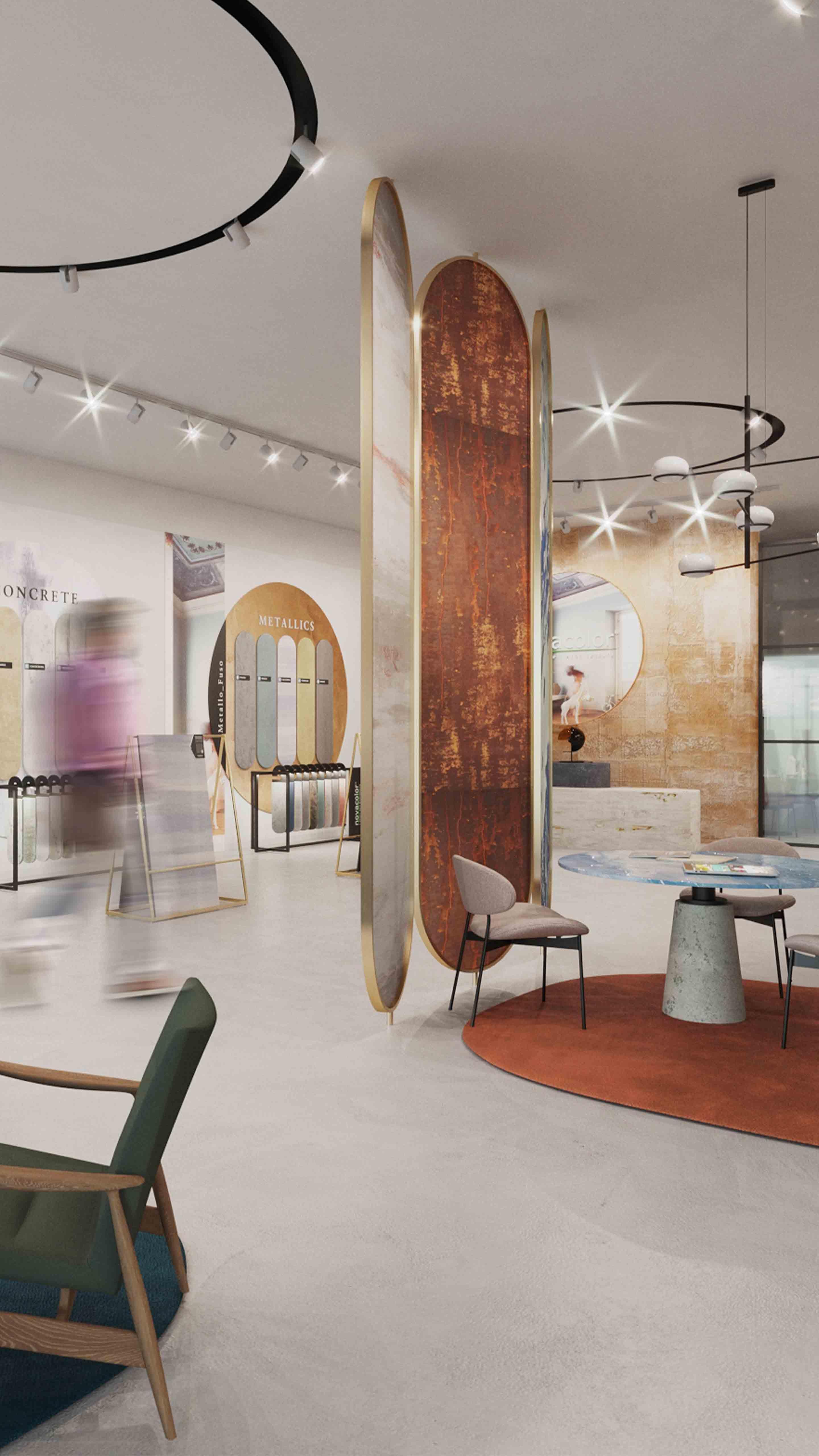 Salle d'exposition de formats Format showroom