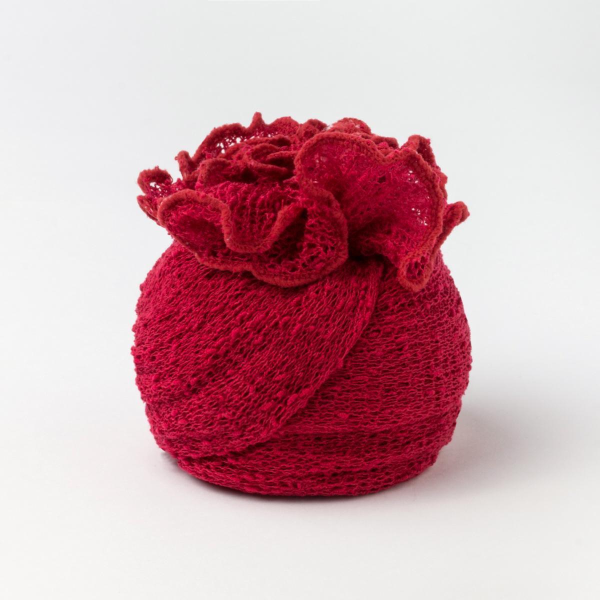 Ponchetto Rosso Fragola | Accessorio moda donna