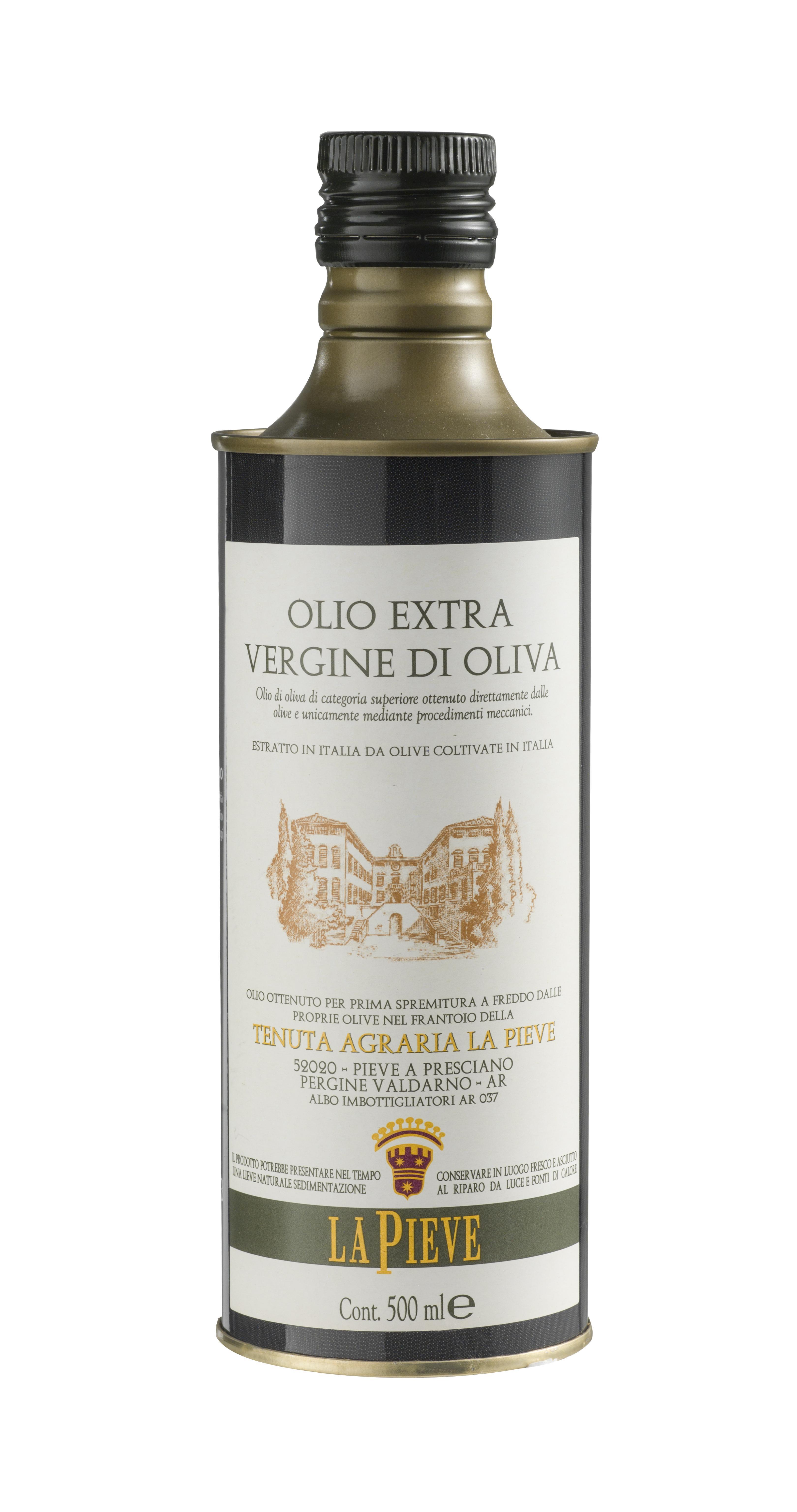 Extra Virgin Olive Oil - Aluminum Bottle (Tuscany)